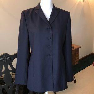 Women's LeSuit navy blazer sz 6